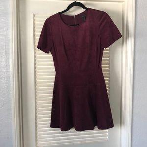 BCBGMaxAzria plum mini dress